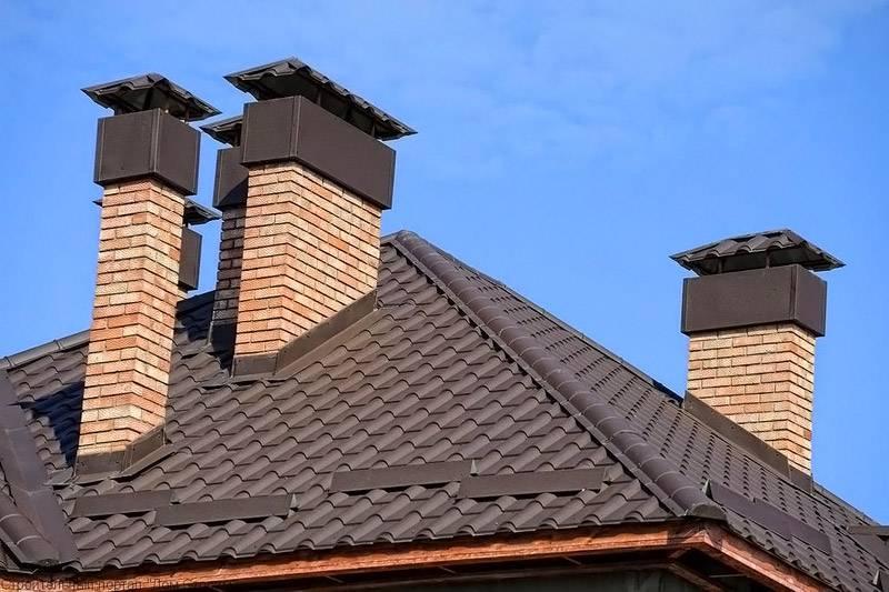 Дымоходы для газового котла в частном доме