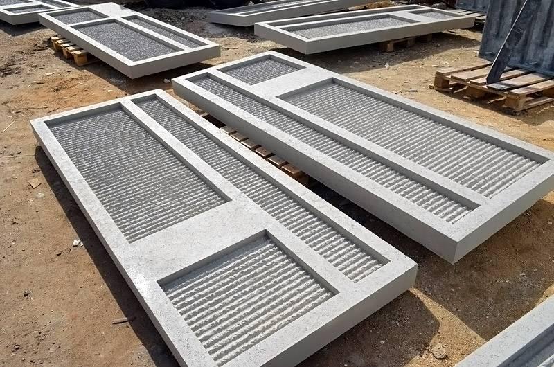 Модели из бетона