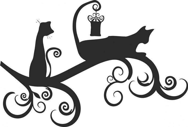 С кошками можно создать множество интересных композиций