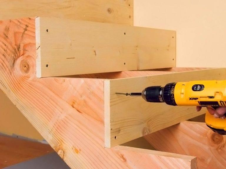 Сделай своими руками лестница деревянные