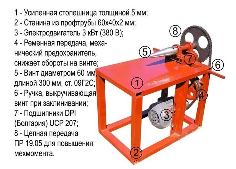 Устройство простой самодельной установки