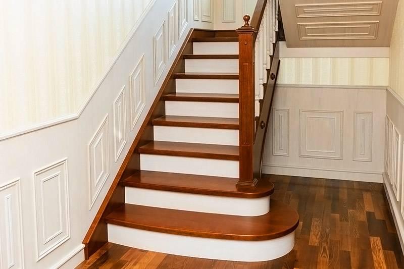 Лестница с поворотом на 180 своими руками 51