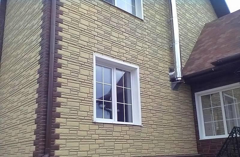 Фасадный материал обладает декоративными и защитными свойствами