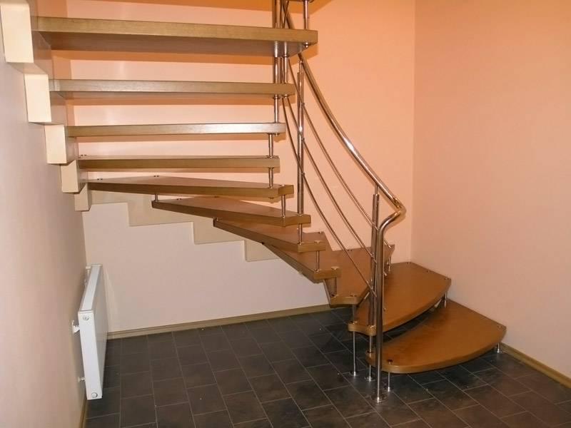 Лестницы из металла на второй этаж в частном доме