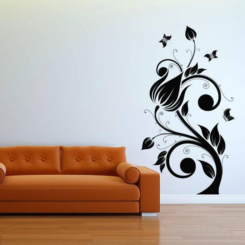 Шаблон для рисунок на стене
