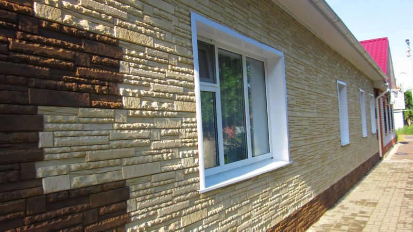 Полимерные панели для наружной отделки дома