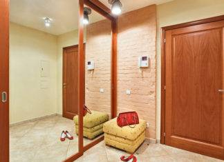 Освещение коридора в квартире: фото