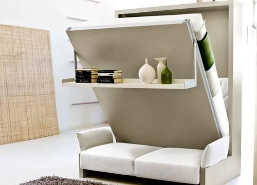 Как выбрать кровать трансформер для малогабаритной квартиры и стоит ли покупать?