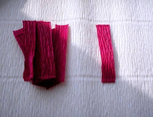 1-29 Цветы из гофрированной бумаги своими руками