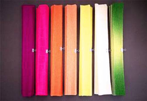 1-30 Цветы из гофрированной бумаги своими руками