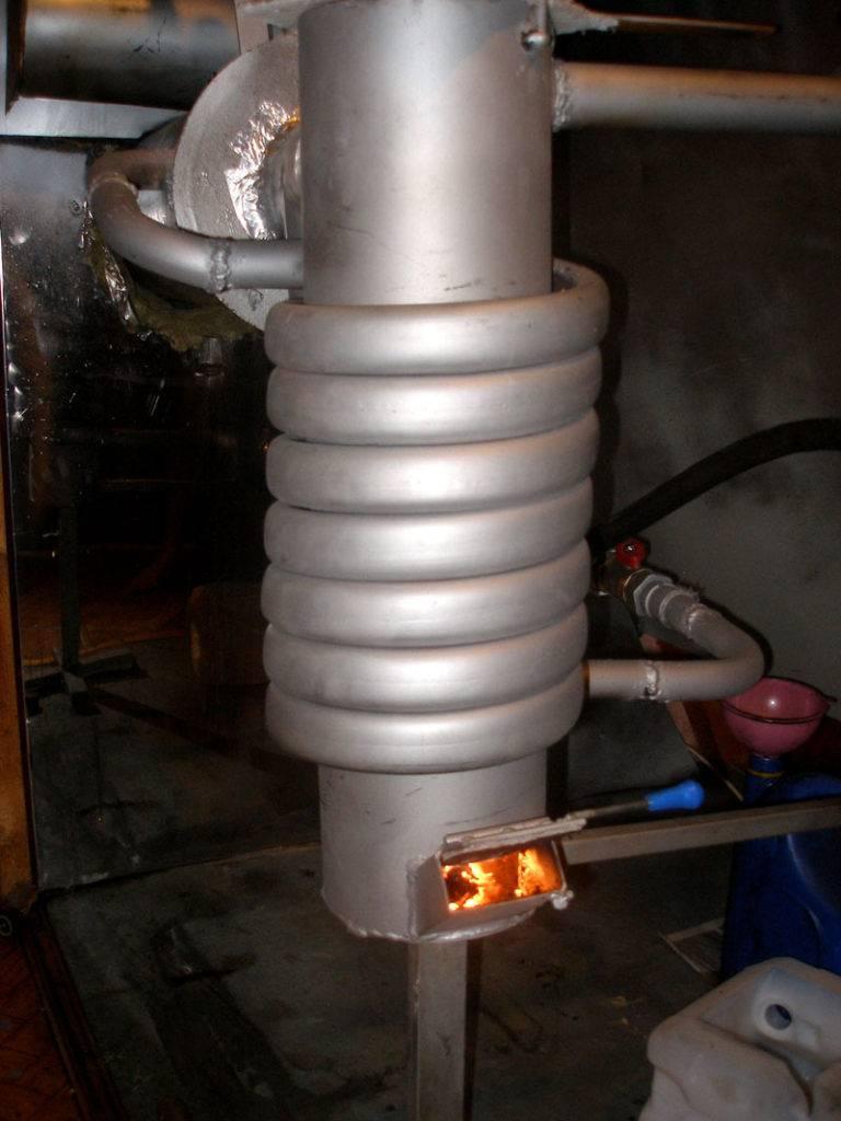 Котел из газового баллона с водяной рубашкой своими руками