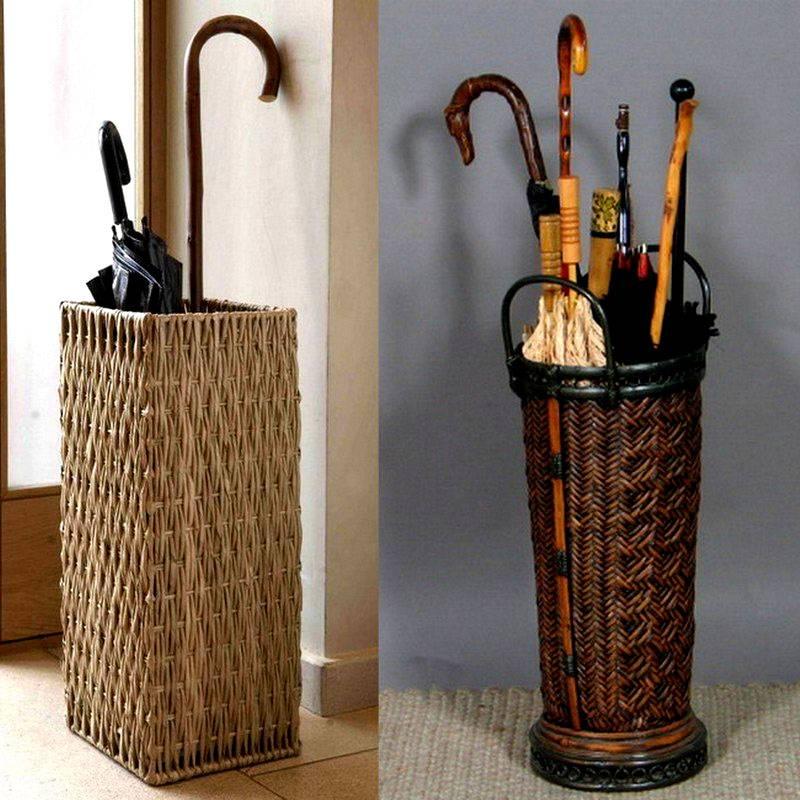 Оригинальные стойки позволяют создать стильный интерьер