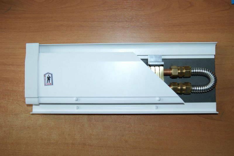 Устройство на основе нагревательных регистров состоят из отдельных секций