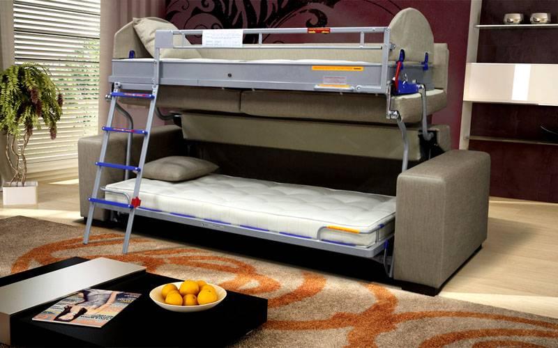 Подобная модель превосходное решение для детских комнат