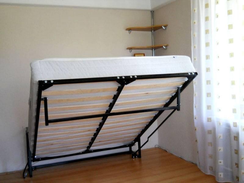 Как сделать откидную кровать