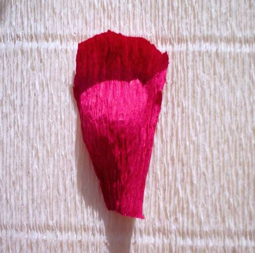 2-28 Цветы из гофрированной бумаги своими руками