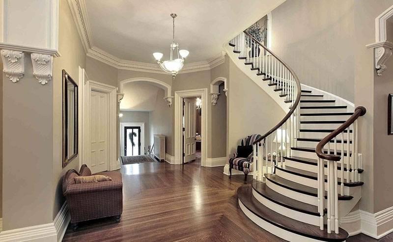 Винтовая модель лестницы