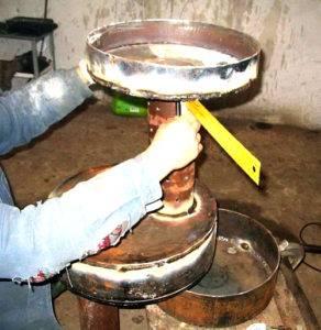 Печка на отработке своими руками: чертежи, видео и пошаговое фото