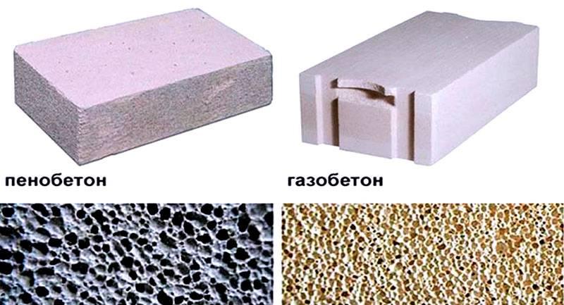 Структура материалов различна