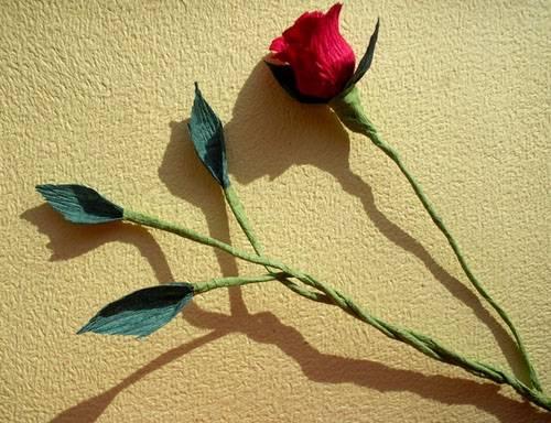 6-23 Цветы из гофрированной бумаги своими руками