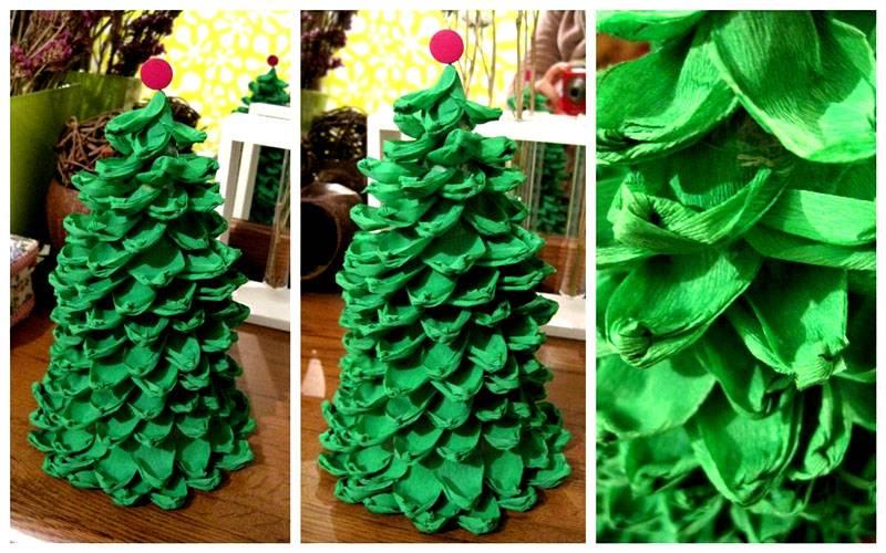 6-26 Цветы из гофрированной бумаги своими руками
