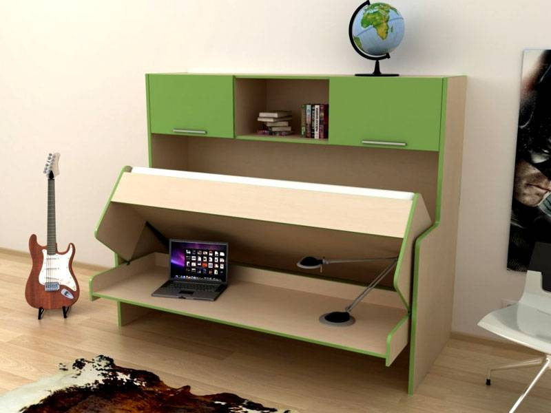 Использование стола-кровати