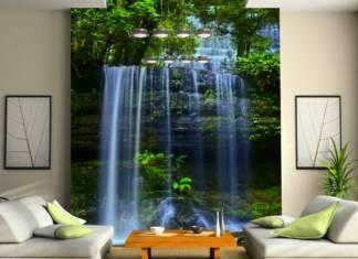 3Д фотообои для стен: фото
