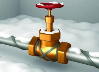 Кабель для обогрева водопроводной трубы