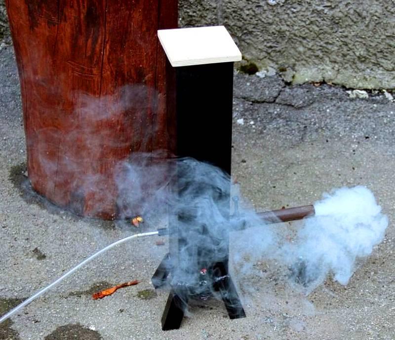Холодный дым своими руками