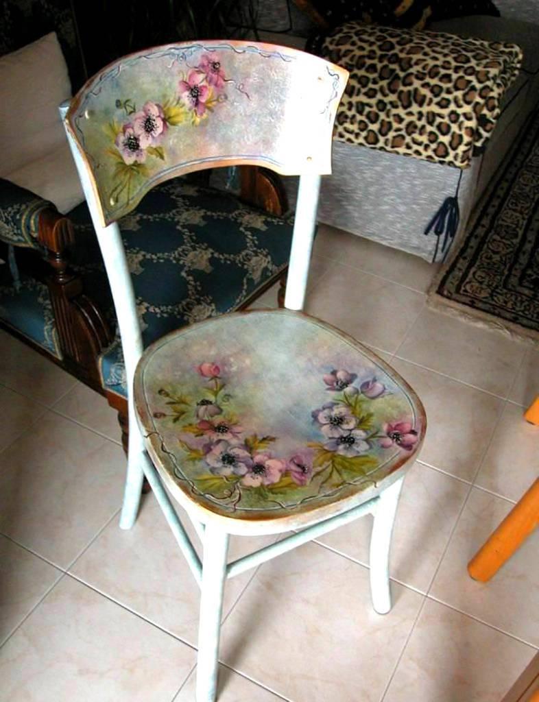 Как реставрировать стулья