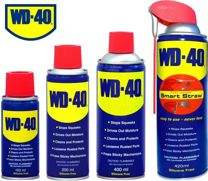 Смазка-растворитель WD-40