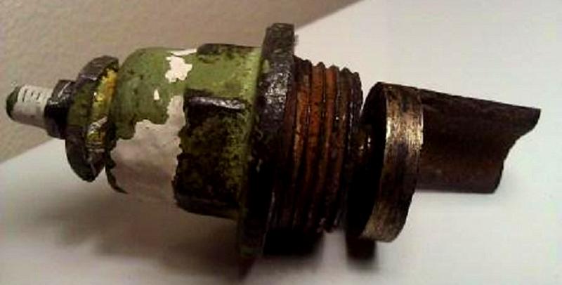 Спускной клапан старого образца