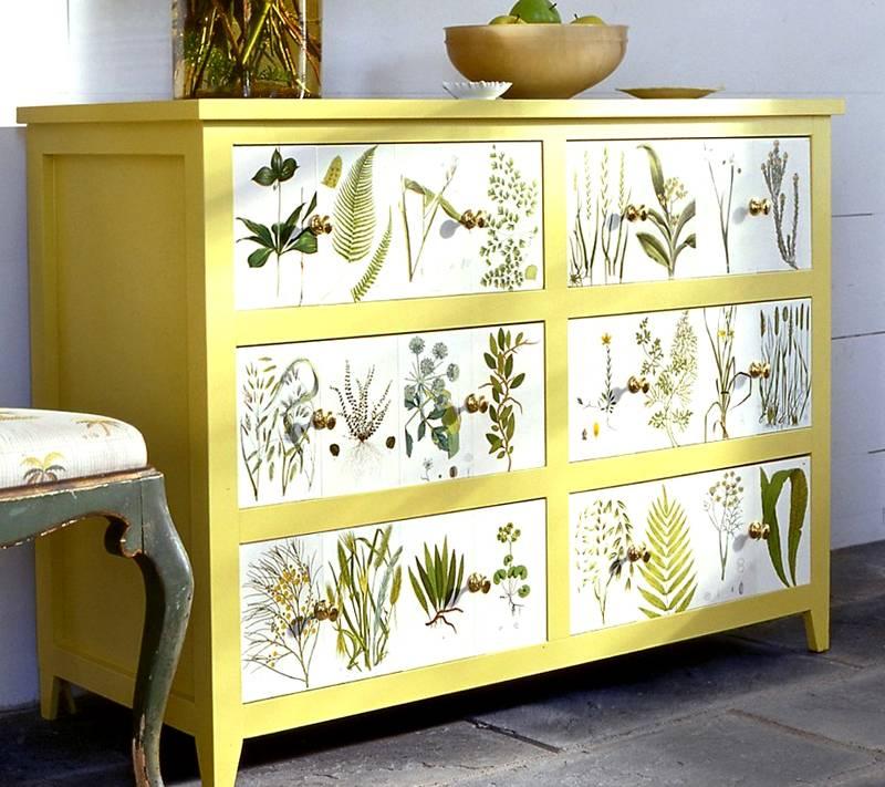 Преображение простой мебели в интересный элемент интерьера