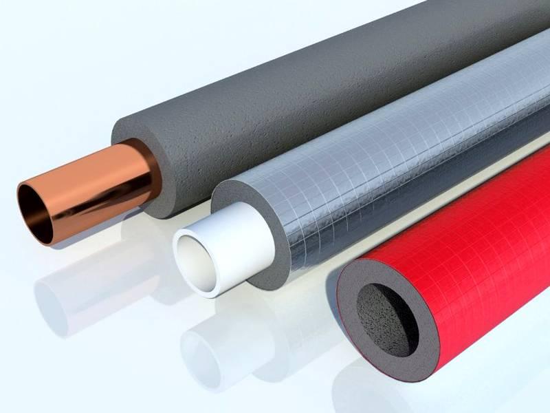 Специальные разрезные трубки из вспененных полимеров