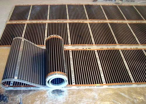 Теплый пол на деревянный пол под линолеум: технологии, материалы и самостоятельное выполнение работ