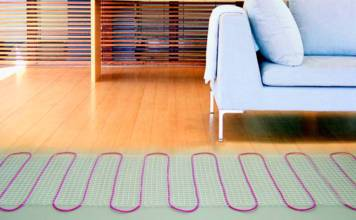 Теплый пол на деревянный пол под линолеум