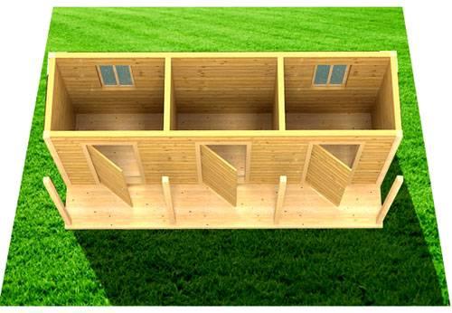 Мечта огородника: дачные двухкомнатные бытовки с туалетом и душем