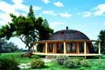 Дом с мансардой: фото, проекты, планировка