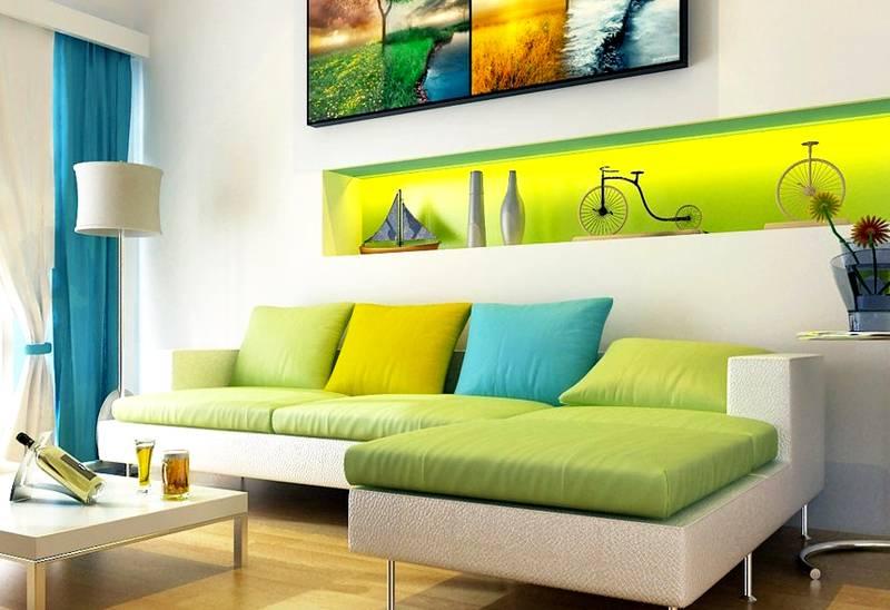 Сине-зеленый – зеленый – желто-зеленый