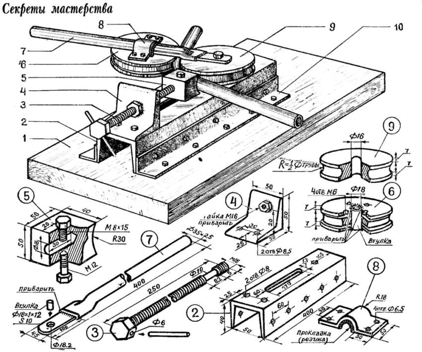 Конструкция, не сложная для самостоятельного изготовления