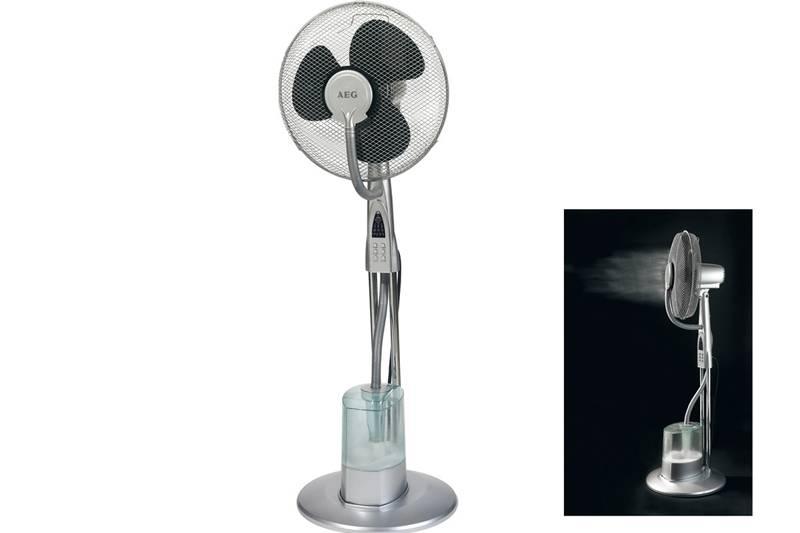 Вентилятор в качестве увлажнителя