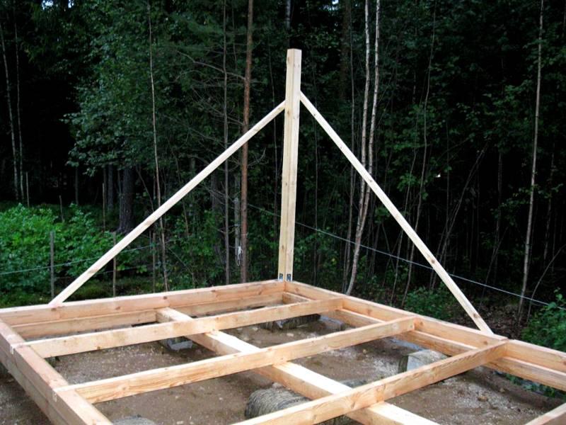 Дачный домик своими руками пошаговое