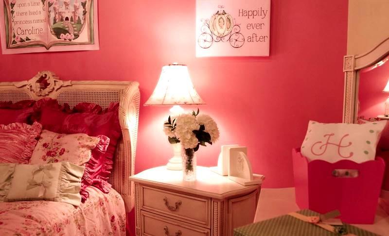 Романтический розовый цвет