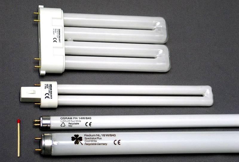 Для равномерной подсветки длинных/ широких участков используют соответствующие лампы