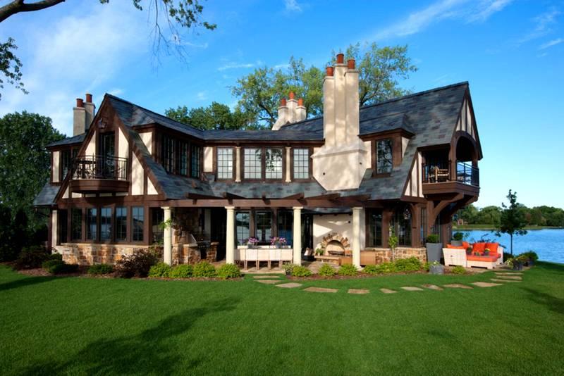 Классический английский загородный дом