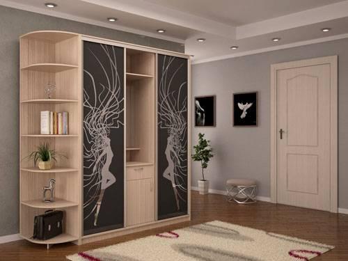 Современные шкафы-купе: фото, дизайн и лучшие идеи