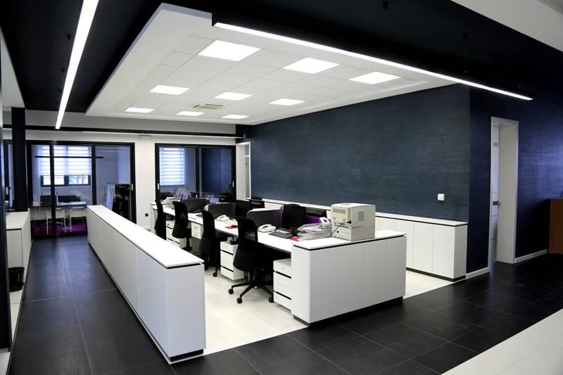 Энергосберегающие светильники в офисе