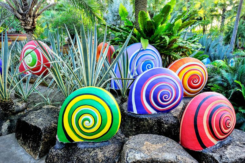Яркие краски и смелые идеи превратят сад в сказочную страну