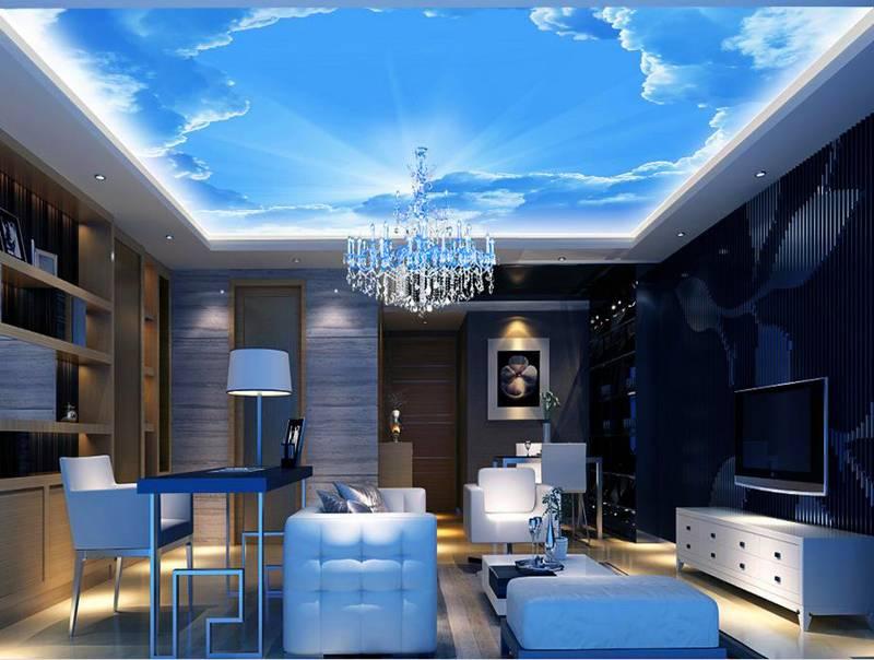 Имитация неба с помощью подвесного потолка