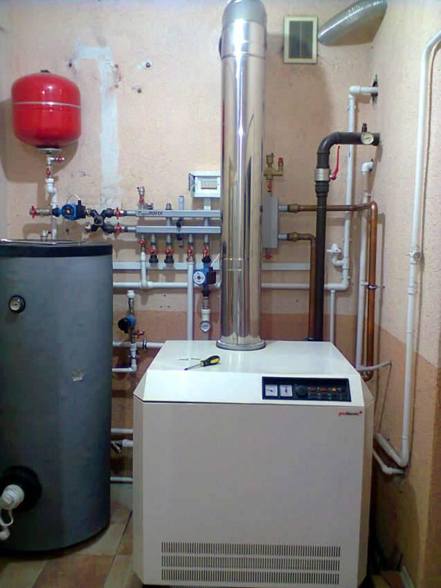 Особенно удобна такая система в частном доме, где отопительное оборудование устанавливают в отдельном техническом помещении